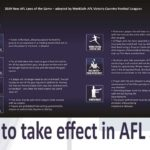 AFL South East Rule Changes